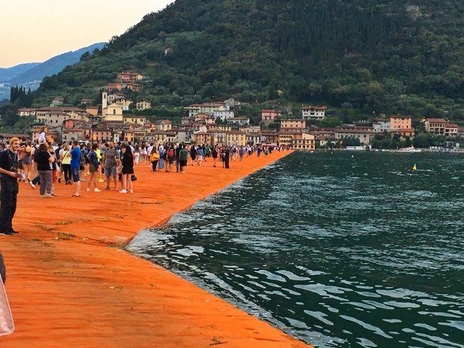 Christo Jeanne Claude Floating Piers Sulzano Lago D'Iseo Italy Art Experience Art