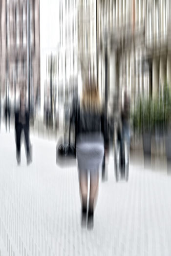 BusinessCasualClothing Business Casual Clothing Blurredness City Life Cityscapes Collonaden Hamburg Street Street Photography Woman