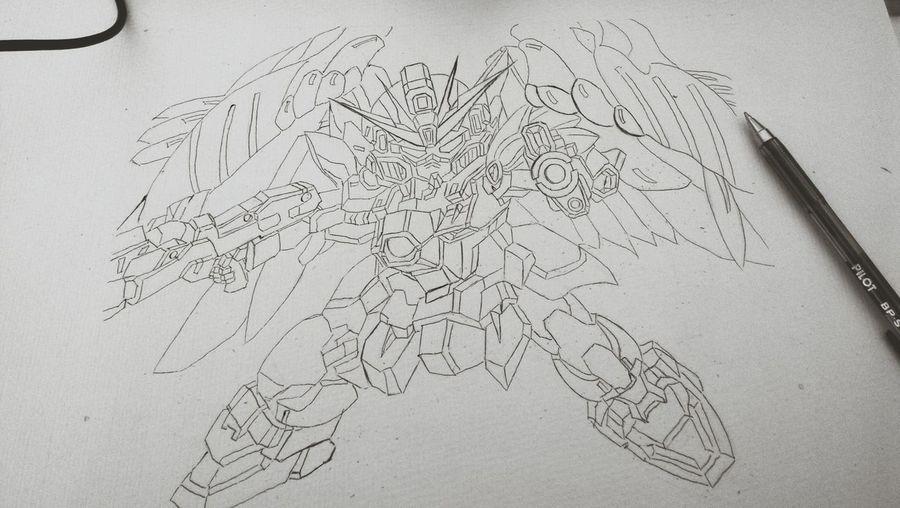 gundam Art, Drawing, Creativity Drawing Art Japanese Animation Gundam Gundam??