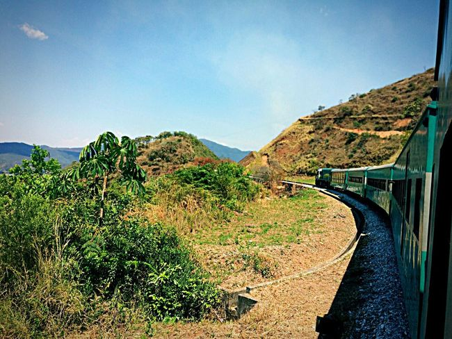 Mountain Transportation Day Road Landscape Outdoors Sky Tranquil Scene Clear Sky Railroad Track Travel Destinations Mariana Minasgerais Brazil