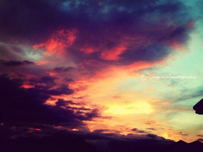 Sunset Photography takenbyAnneGabito Eye4photography  Eyeem Philippines EyeEmbestshots Clouds And Sunse