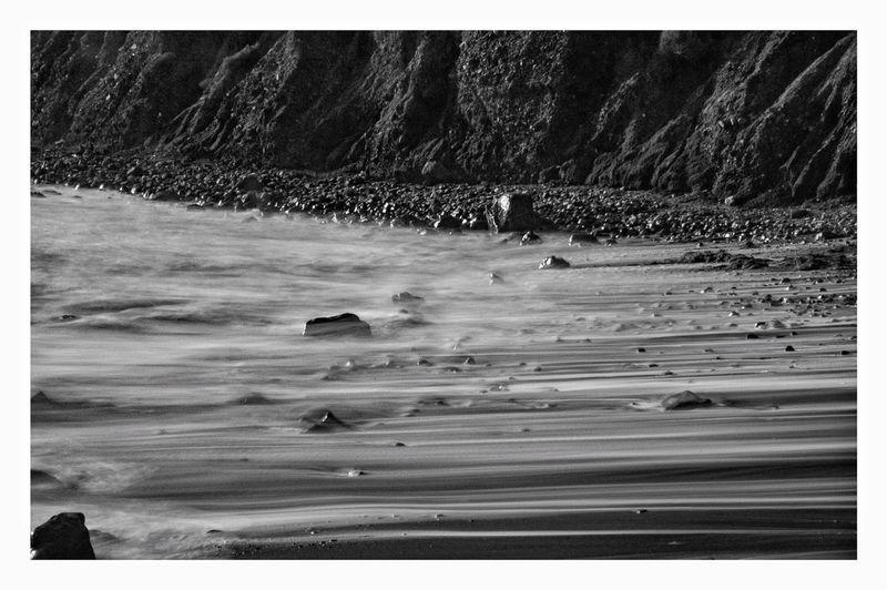 Moving shore.