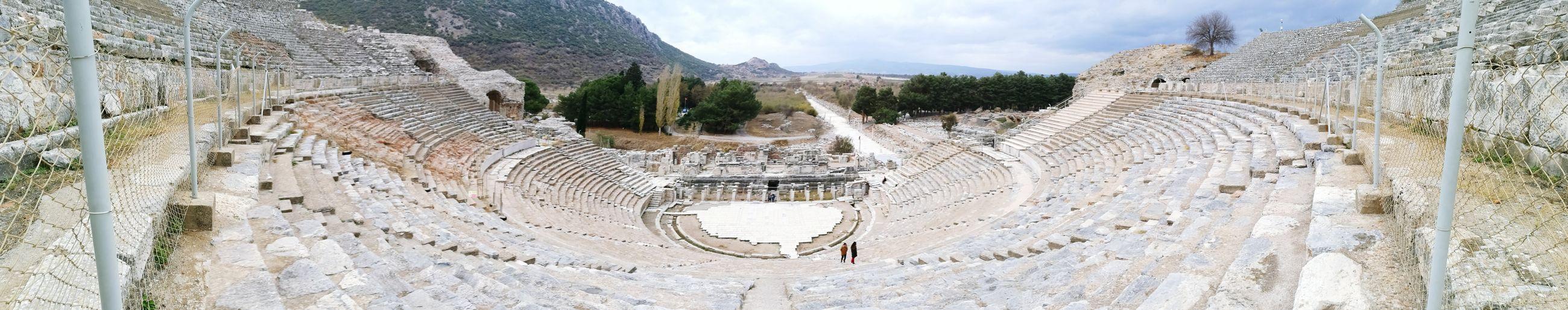 Ephesustheater Ephesus Ruins Ephesus Wonderful View Helenistik Greek History Ephesus - Turkey Exciting Turkey Roman History Architecture Amazing View
