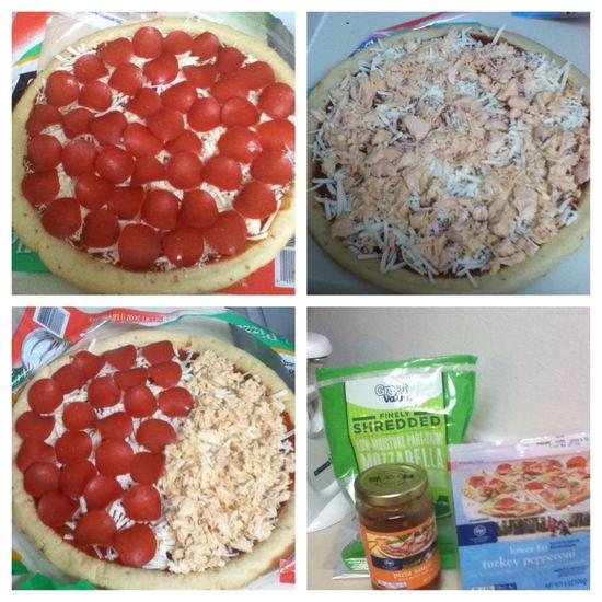 I made pizza!