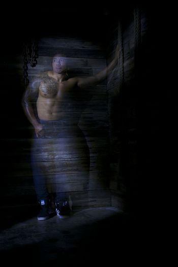Ghostly Ghost Lightpainting