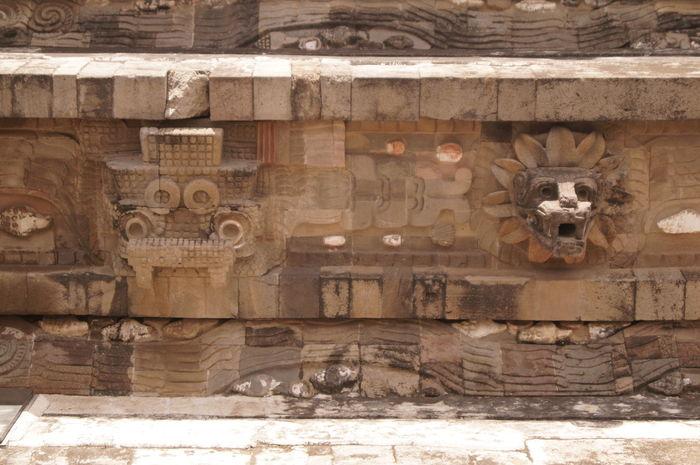 Arqueology Art Cultura History Mexico No People Piramide Quetzalcoatl Teotihuacan Teotihuacán Pyramids Tlaloc Zona Arqueológica