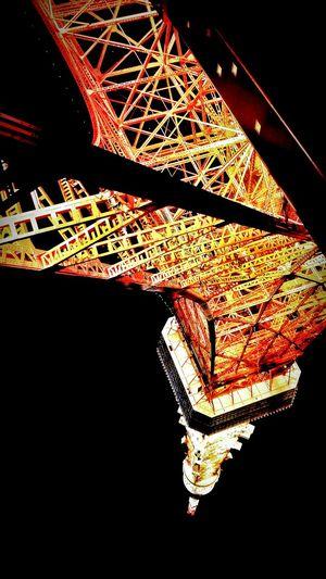何度でも打ち上げてやるぜー🗼❕❕The Architect - 2015 EyeEm Awards 鉄塔♡Love Steel Tower 💙 Love Steel Tower  From My Point Of View Hello World Lookingup Light And Shadow Nightphotography *CHIE*