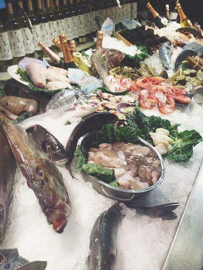 Seefood Fish In My Mouf