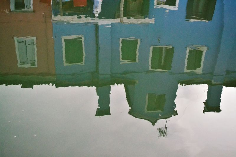 Colours Architecture Building Exterior Built Structure Day No People Outdoors Puddle Reflection Reflections Reflections In The Water Travel Destinations Urban Landscape Water Waterfront Window