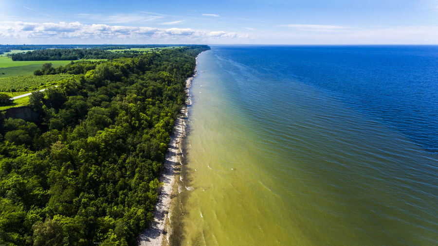Aerial Photography Aerial View Backgrounds Beach Coastline Day Eesti Estonia Forest Horizon Over Water Instagood Landscape Landscape_Collection Nature Nature No People Sea Shore Shoreline Sky Sky And Clouds Summer Travel Destinations Vacation Destination Water