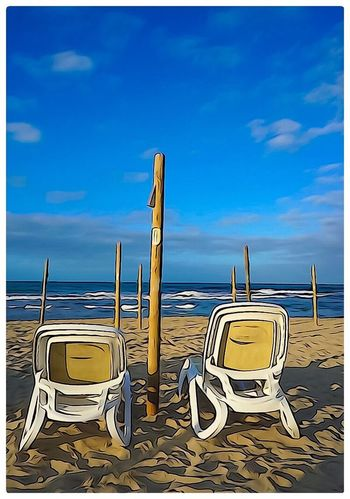 Waiting Blue Best Seat In The House Dreaming Mallorca Silence Waves Thinking Hello World Relaxing Photography Colors Hot Day Comfortable Paradise Special Moment Smile Telling Stories Differently Gallery Made For 2