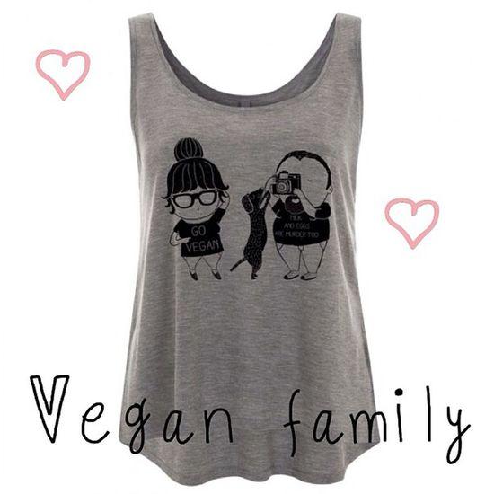 Vegan family tencel tank top, available now! www.chiaralascura.it #vegan #veganfashion #veganshopping #veganshirt #veganfashion #modaetica #modabio #tencel #fairwear #vegansofig #ecofashion #chiaralascura #ethicalfashion Vegan Vegansofig Chiaralascura Veganshirt Veganshopping Fairwear Veganfashion Ecofashion Modaetica Ethicalfashion Tencel Modabio