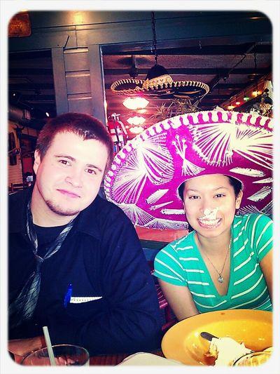 my fake birthday lol me and Ryan my marine friend :)