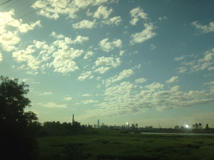 NYC Skyline Jersey Swamps NoWhere Land