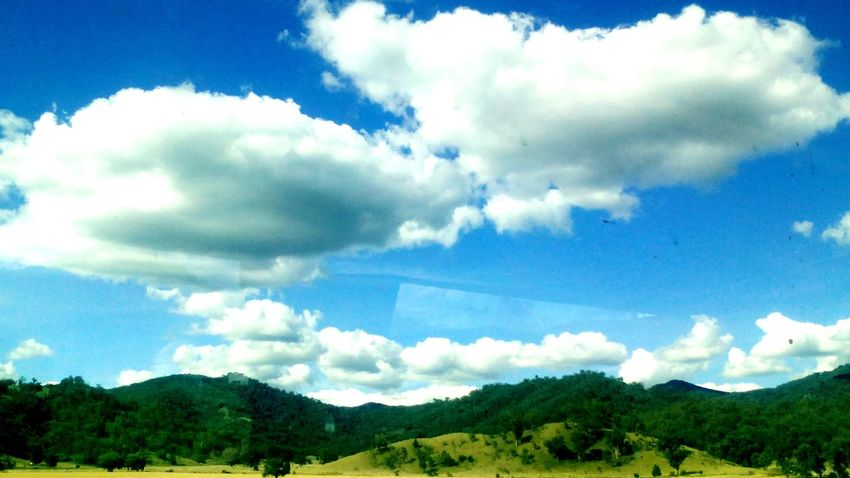 Trainride Lovetheview Blue Sky Countryside Australia Love ♥ Greenery Awesome_shots Summer Views Beautiful Nature Have A Nice Day♥ Smile ✌ Sunny Day Fundday Lifeisbeautiful