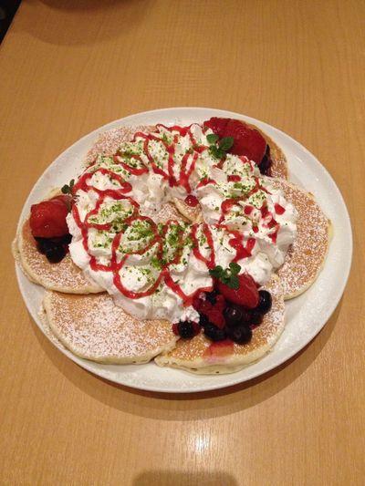 Christmas Holiday Sweet Pancakes HAPPY☆