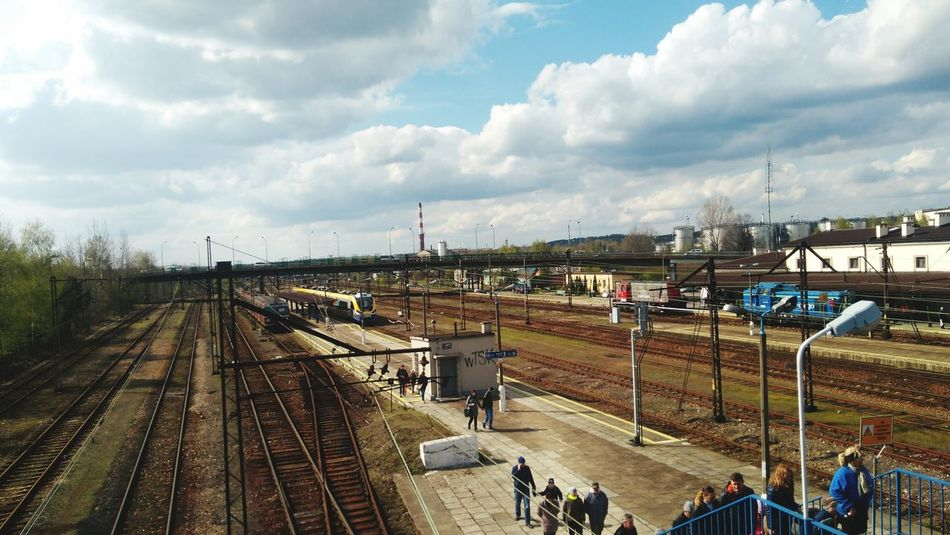 Day of Railway Technology Transport Train - Vehicle Outdoors Railroad Track Cloud - Sky Poland Pollen Trzebinia Kolejemałoplskie