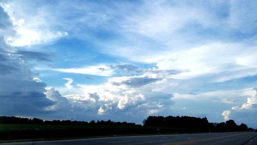 Tree Sky Cloud - Sky Landscape Storm Cloud Dramatic Sky Cumulonimbus Atmospheric Mood Meteorology Moody Sky