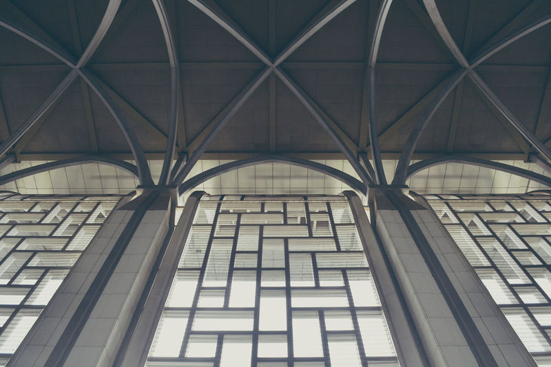 #Mosque #architecture #interiors #islam #muslim #symmetry #vintage