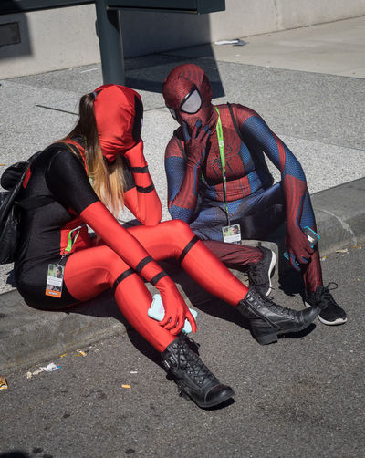 Cosplay Cosplayer New York Comicon NYCC NYCC2015 Spiderman