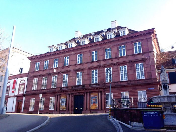 Building Exterior Architecture Built Structure Window Clear Sky Row House No People Day City Sky Museumfürwohnkultur