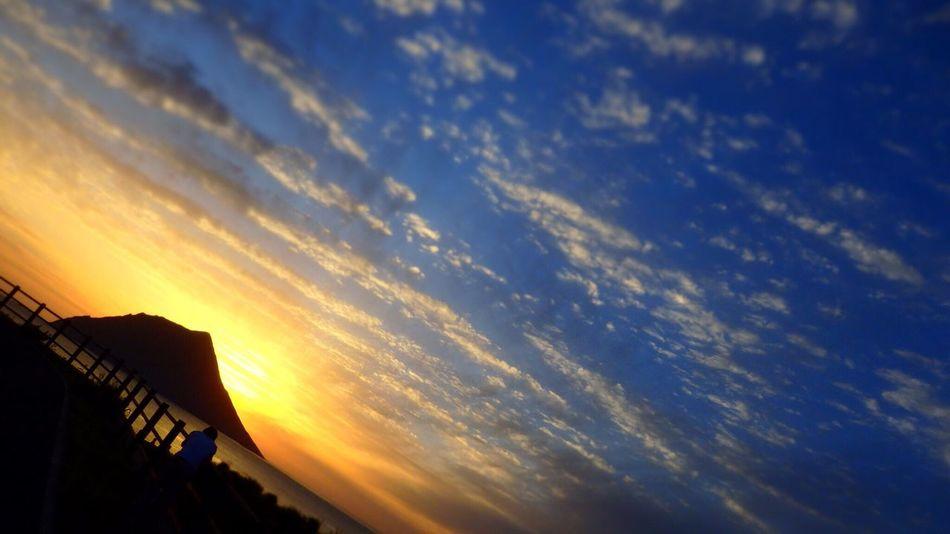 八丈島 Hachijo-island Clouds And Sky Nature Sea Sky Sunset Clouds