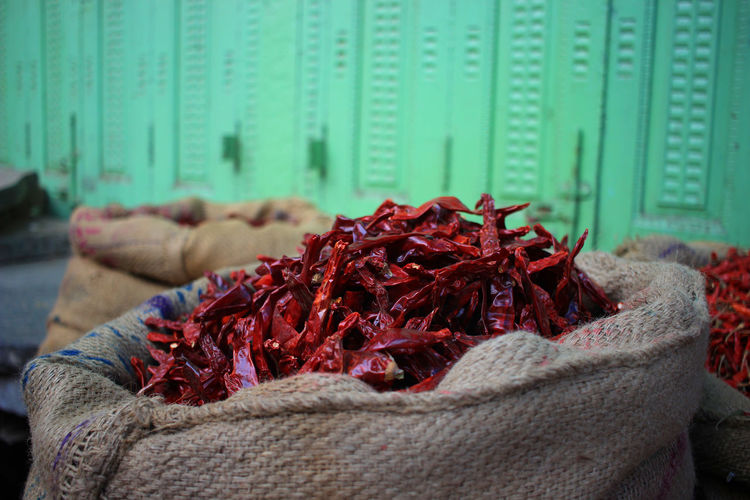 Chili Pepper Close-up Dried Food Focus On Foreground Food For Sale Freshness Large Group Of Objects No People Pepper Red Red Chili Pepper Spice Still Life