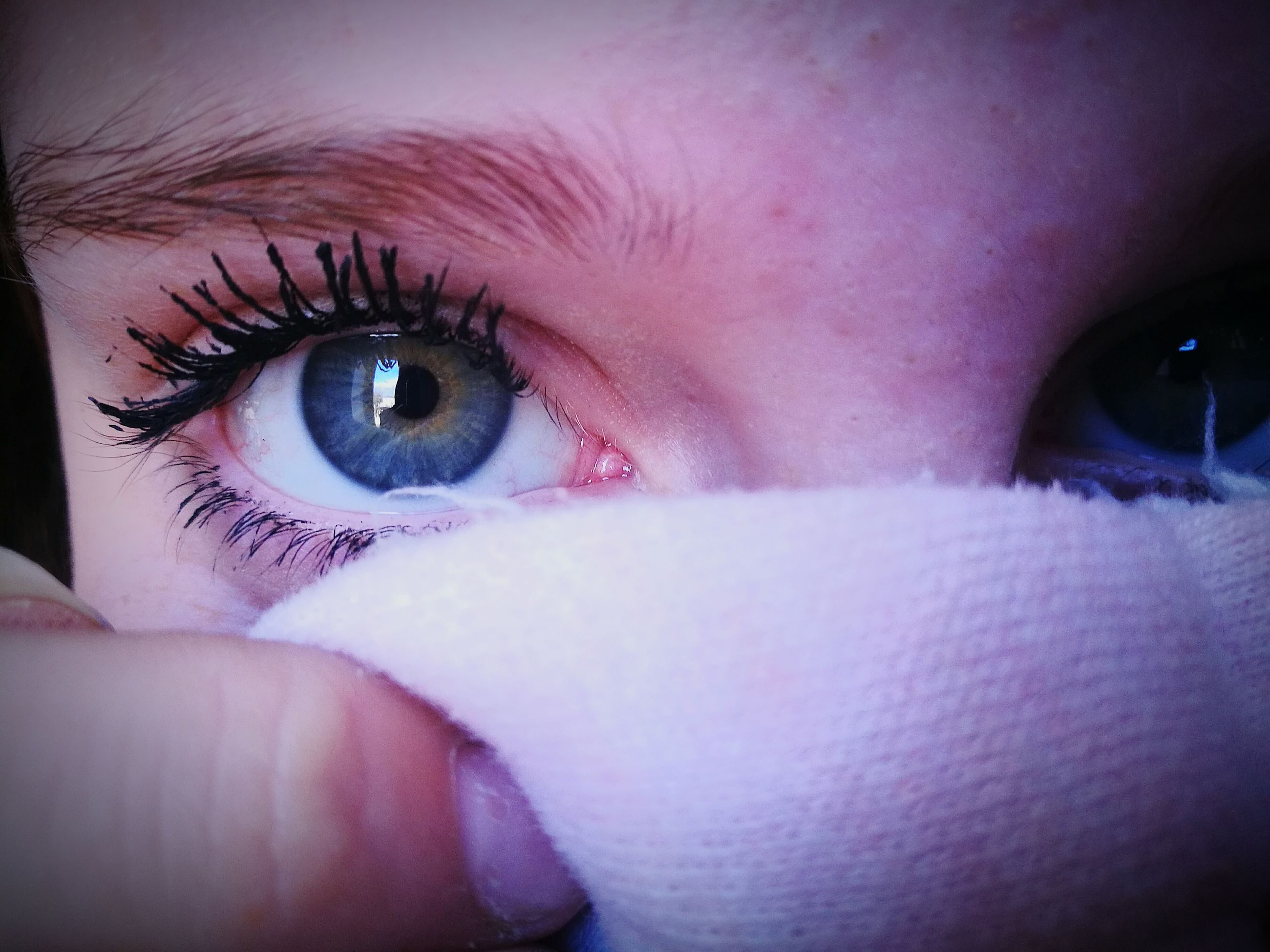 human eye, human body part, close-up, eyelash, real people, women, eyesight, eyeball, eyebrow, one person, human skin, young women, young adult, adult, people, outdoors, adults only, day