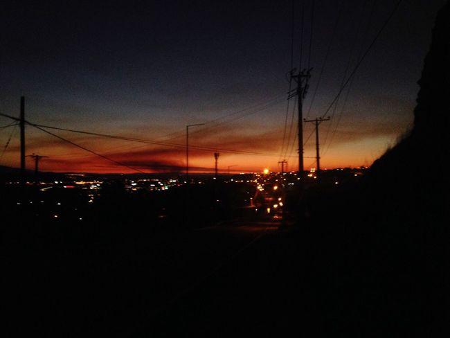 Ovalle Atardecer Sky Sunset