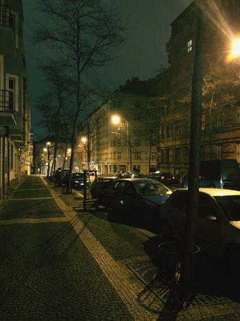 Night Building Exterior Illuminated Architecture Built Structure City Street