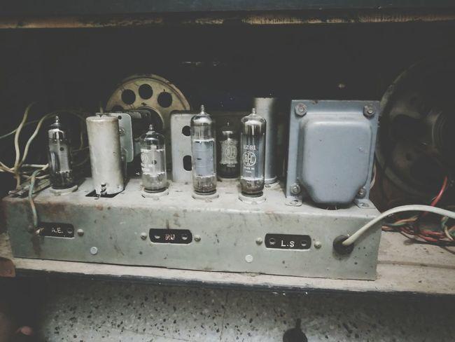 Old vacuum tube radio..! Indoors  Abandoned Village Life Radio Circuit Circuit Board Diode Vacuum Vacuum Tube Vacuum Tubes Transformer Music Tuner Smartphonephotography OnePlusX RBK