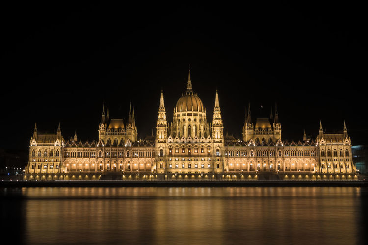 Architecture Budapest Budapest, Hungary Building Exterior Built Structure Capital Cities  City Cultures Dome Government Hungary Illuminated Night No People Outdoors Parlament Parliament Politics Politics And Government Sky Tourism Travel Destinations Water