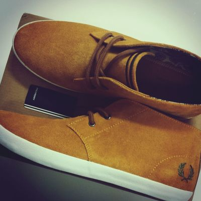 Fred Perry Shoes New