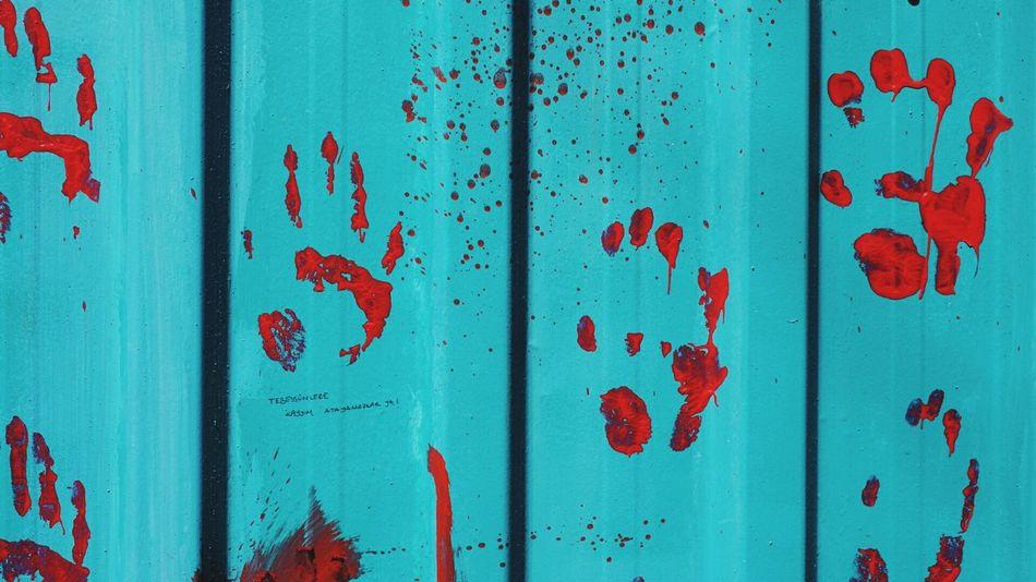 Paint Kids Turquoise Crimson Handpainting Old Town SonyAlpha6000