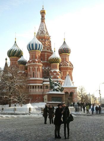 St. Basil's Cathedral Enjoying Life Moscow Walking Around Cityscape Street Photography Architecture Old Architecture Taking Photos Taking Selfies