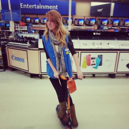 Scooters!! Walmartshortie Thuglife AwesomeSauce @cupcakeiz