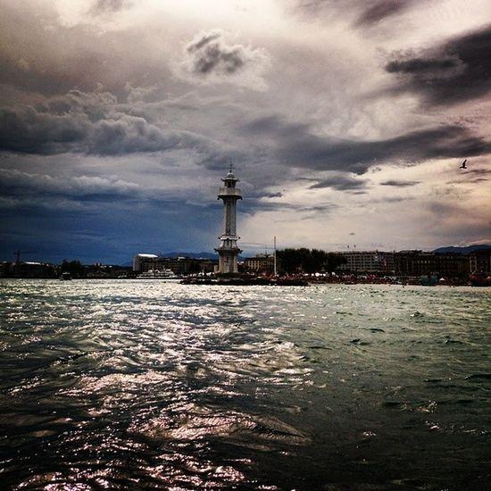 Lago en Ginebra