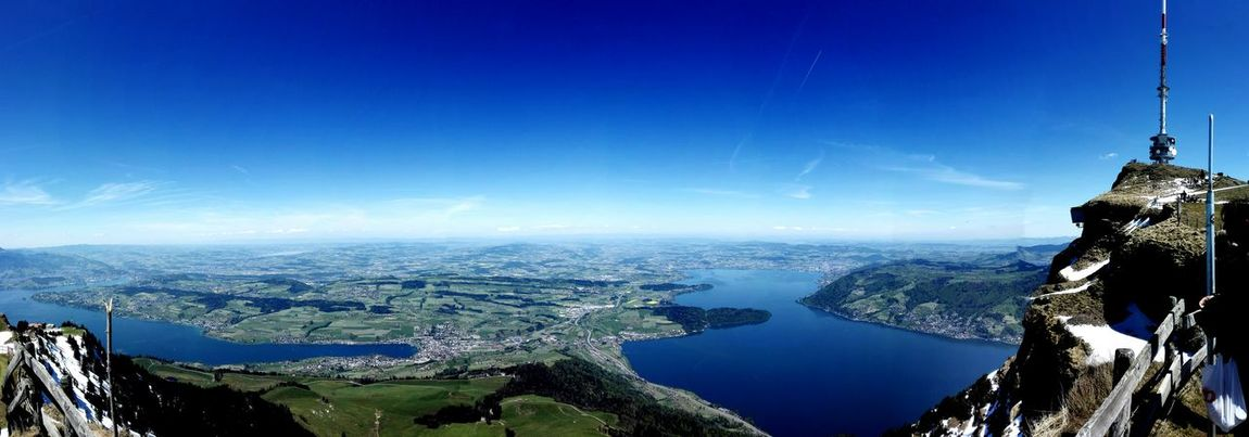 Blue Sky Nature Beauty In Nature Rigi Mountain Rigi The 👑 Queen Of Mountains Rigikulm Mountain Switzerlandpictures Switzerland Travel Sea And Sky Skyline Beauty In Nature