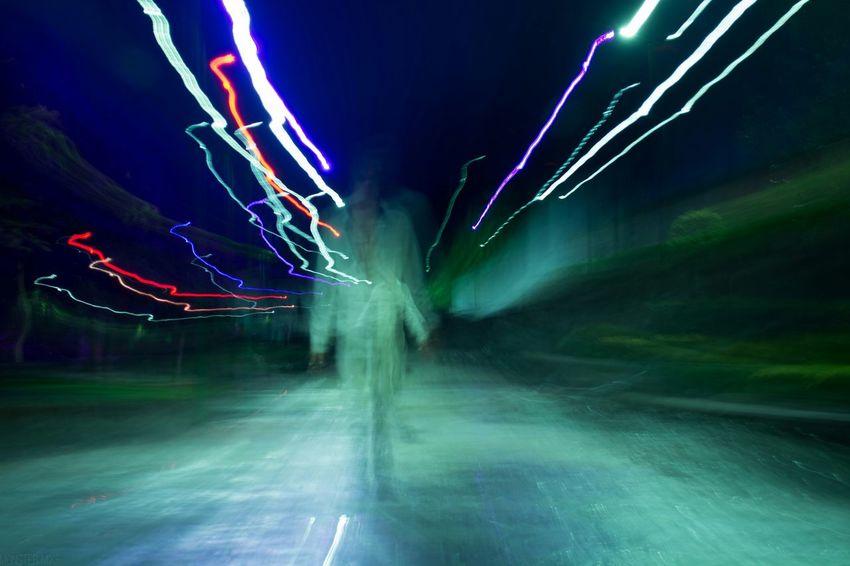 Larga Exposicion Light Painting Lightpainting Luces