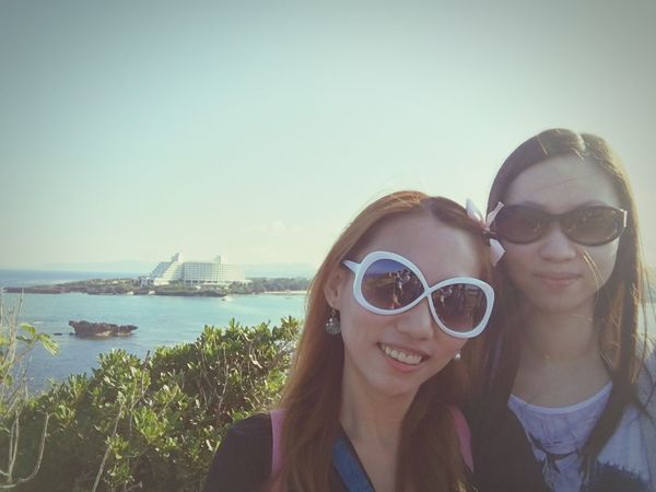 We are in Okinawa ~