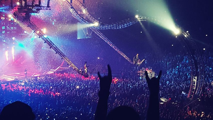 Electronic Music Shots Mötley Crüe The Final Tour Rock'n'Roll Decade Of Decadence Tacoma_WA Iconic Featuring fire spitting bass and the Cruecifly drums!