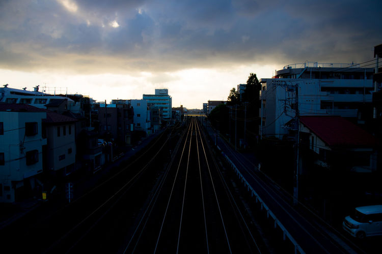 Hello World Tadaa Community Cloud - Sky Rail Transportation Railroad Track The Way Forward Track Transportation 17.62°
