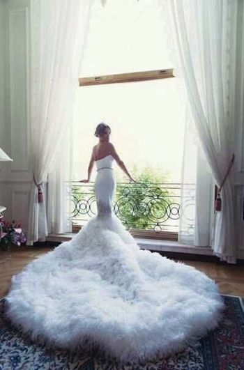 Future Wedding Dress Fashionably Glamorous