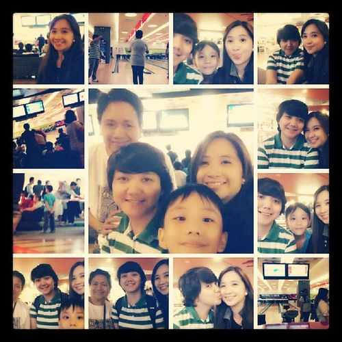 Recreational bowling...will be doing this again...soon... :) Chillax Weekend Qt Love family mineko thebabe