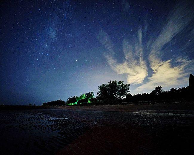 The Great Outdoors - 2017 EyeEm Awards EyeEmNewHere Star - Space Sky Night Nature Beach Beauty In Nature Milky Way Summer Landscape Galaxy Sonyalpha Sonyphotography BiDalat Sony A7RII Vietnam Cangio