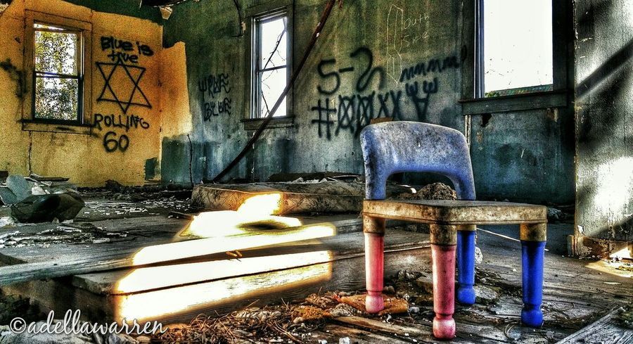 Abandoned House Abandoned America Forgotten Toys Graffiti