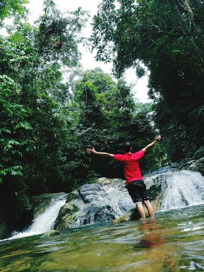 Forestmanagement Dendrology Waterfall Beauty In Nature LataMedang Kualakubu Selangor DBK1A PoliteknikSultanSalahuddinAbdulAzizShah Psa Enjoy Hiking Like Like For Like