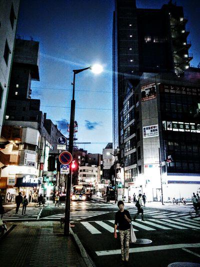 Downtown Cityscape Nightphotography Cellphone Photography Shizuoka-shi Japan My Neighborhood