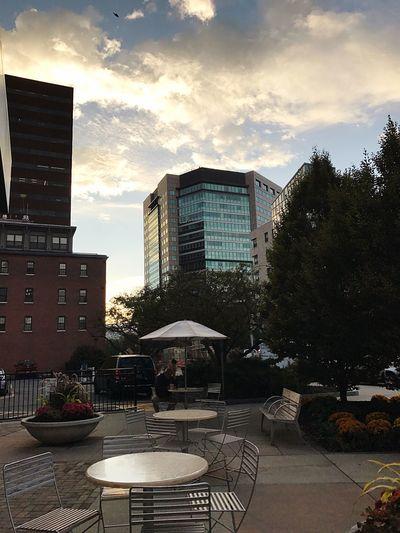 Building Exterior Architecture Built Structure sunrise in Boston