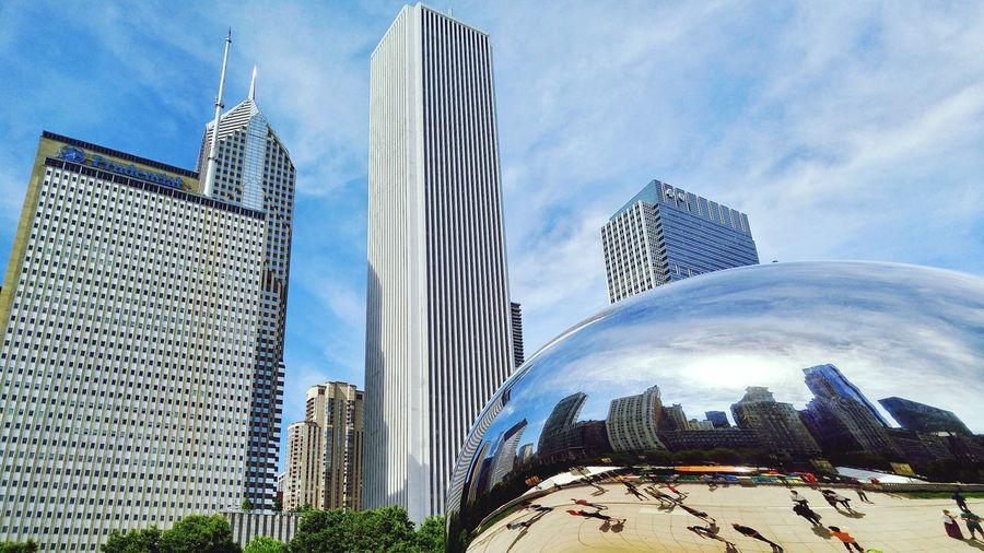 Chicago Beantown Windy City Millenium Park